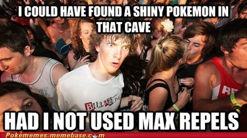 shiny max repel Memes cave sudden clarity clarence - 6898264064