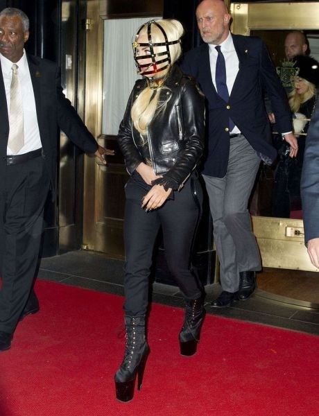 fashion,head,cage,style,lady gaga,if style could kill