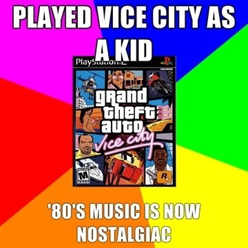 radio nostalgia soundtrack rockstar Grand Theft Auto - 6898319104