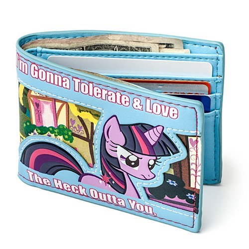 wallet my little pony friendship is magic money - 6898466560