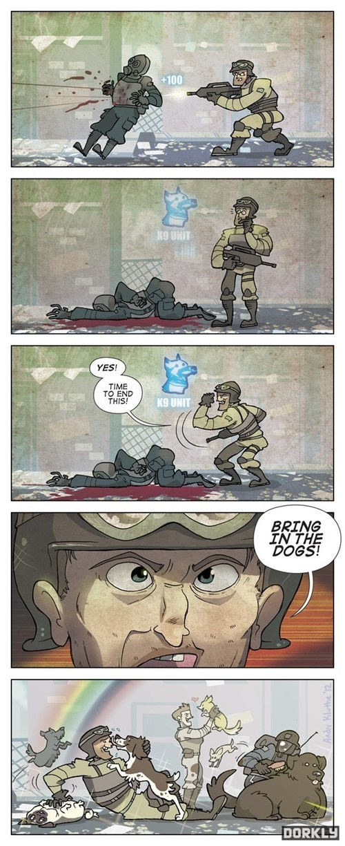 call of duty,comics,comic,k9