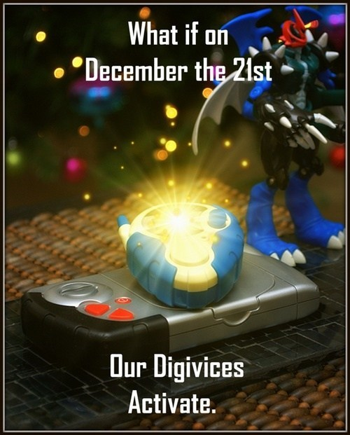 digimon,digivice,digifriday,end of the world