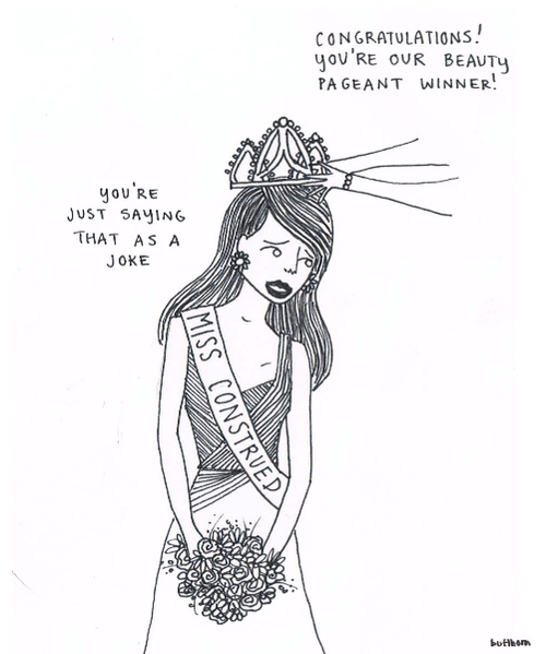 miss pageant literalism misconstrued winner prefix homophones