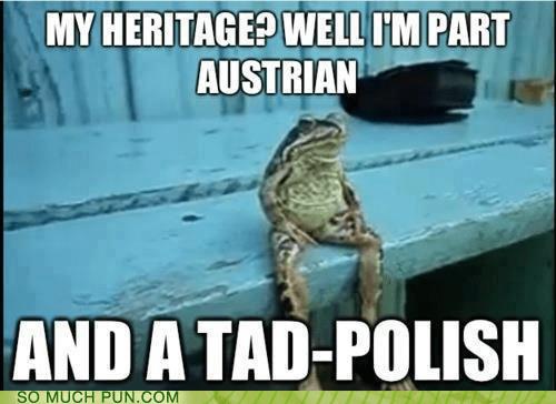 polish heritage tadpole homophone frog - 6898956288