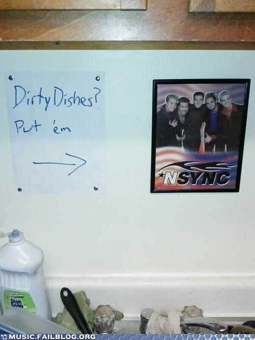 dirty dishes puns nsyn - 6899319296