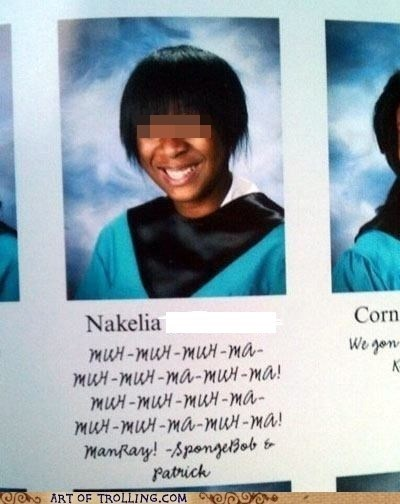 Like a Boss,Yearbook Quote,SpongeBob SquarePants,TV