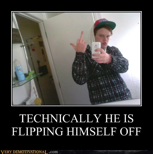 kid flipping off idiot iphone - 6899547904