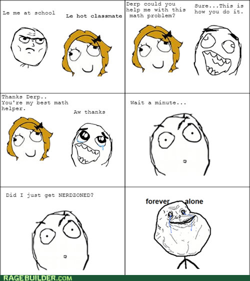 forever alone math problem derpina friendzone math - 6899704832