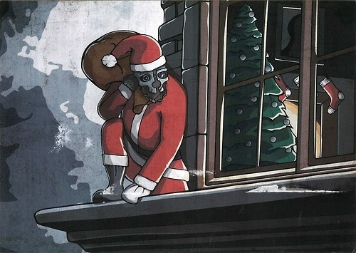 art corvo dishonored chistmas - 6899725312