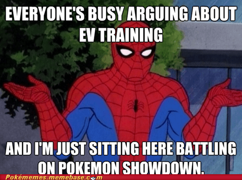pokemon showdown,EVs,Spider-Man