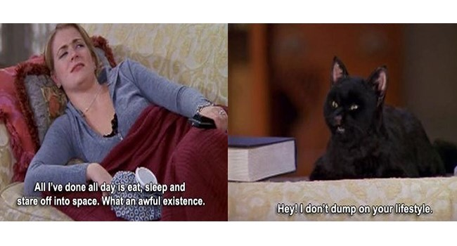 sabrina the teenage witch, salem the cat, 90s nostalgia
