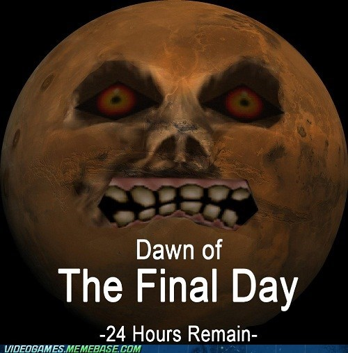 dawn of the final day mayans end of the world majoras mask zelda game over