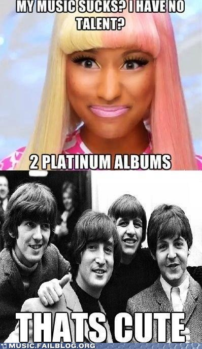 the Beatles,nicki minaj
