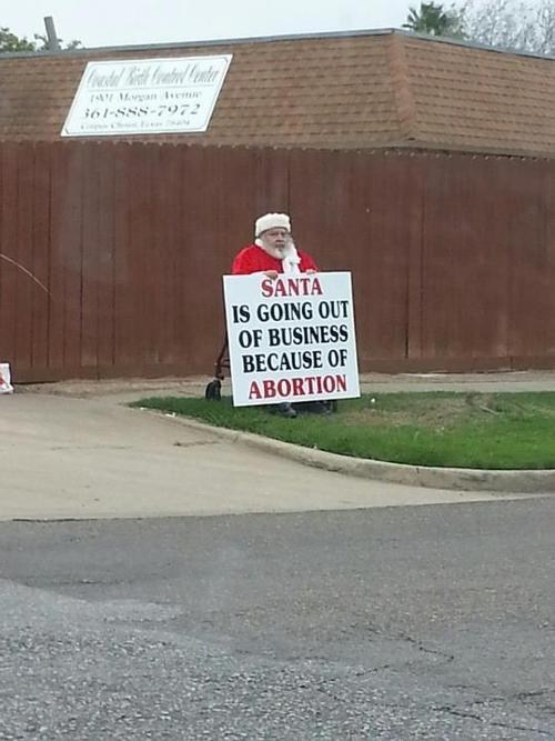 abortion santa Parenting FAILS