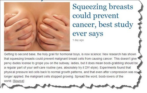 breasts,cancer,studies,squeezing,dating fails