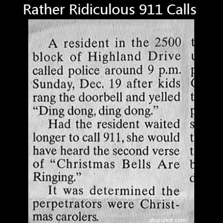 911 Christmas Carols newspaper - 6900989696