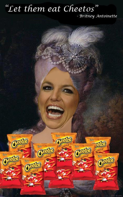 marie antoinette britney spears let them eat cake cheetos - 6900993536