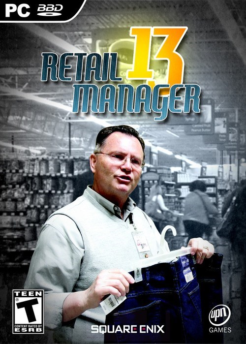 retail manager,square enix,fake game