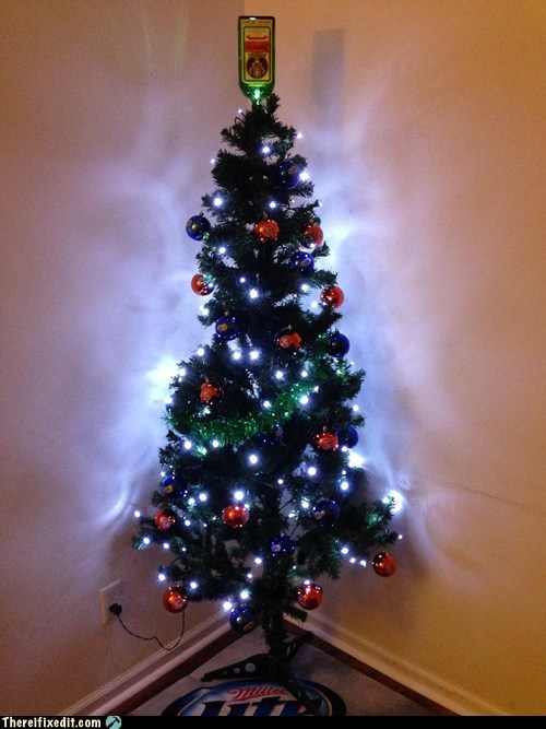 jagerbombs,christmas tree,jagermeister,g rated,there I fixed it