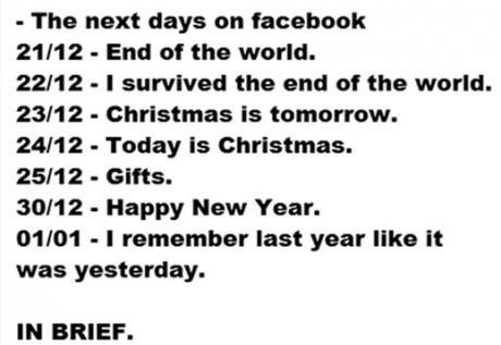 christmas new years apocalypse 12/21/2012 mayans 2013 failbook g rated