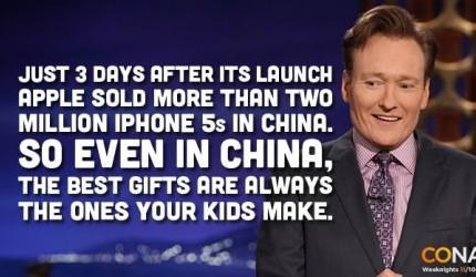 christmas in china,iPhones,best gifts,conan