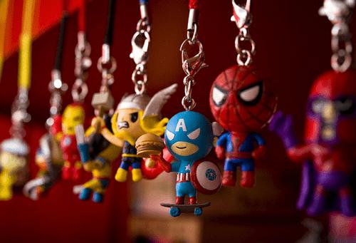 Thor Spider-Man big head captain america - 6901190144