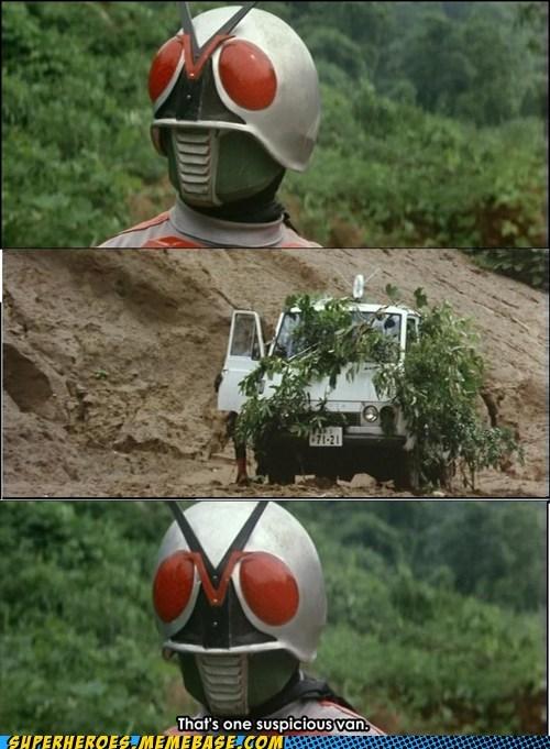 camouflage suspicious kamen rider - 6901208064
