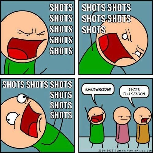 shots comics Something Of That Ilk Party flu season - 6901274880