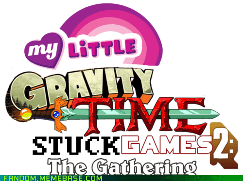 crossover magic the gathering my little pony homestuck gravity falls Team Fortress 2 adventure time hunger games - 6901324288