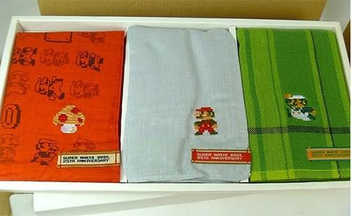 hankies handkerchiefs super mario mario nintendo - 6901364736