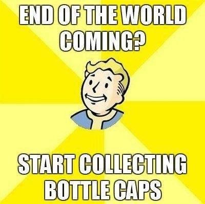 fallout bottle caps Memes - 6901379072