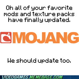 decisions PC mods minecraft mojang