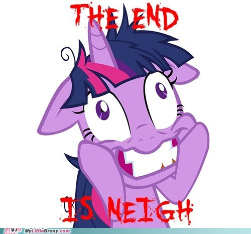 twilight sparkle mayans end of the world - 6901500160