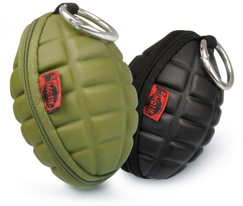 coin purse grenade wallet zipper change - 6901526272