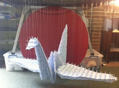 origami design crane - 6901554432