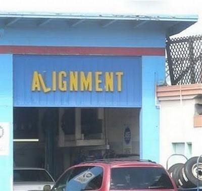 sign,repairs,irony,align