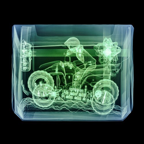 x ray photography art sneaky christmas presents - 6901562880