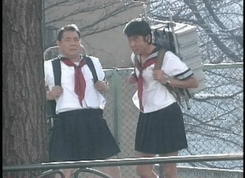 crossdressers schoolgirls