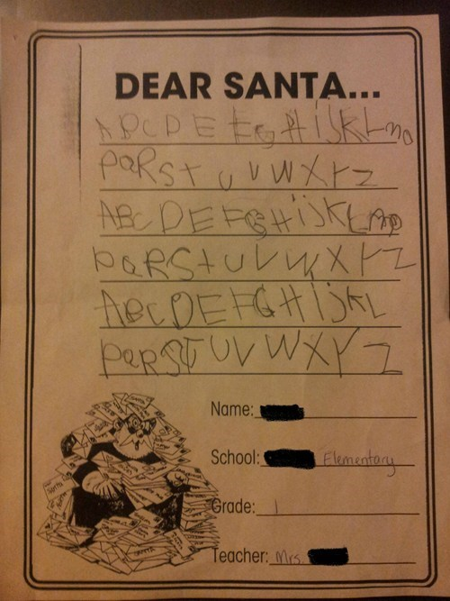 letters to santa - 6901608960