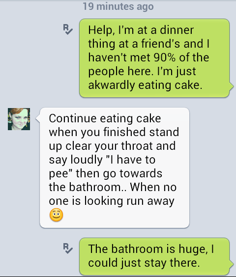 cake,Awkward,option,bathroom,g rated,AutocoWrecks
