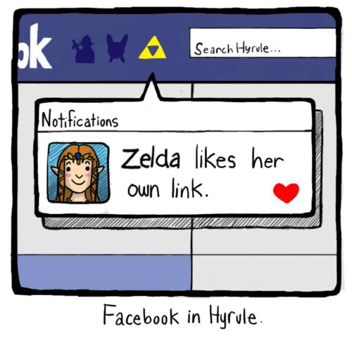 hyrule link facebook zelda - 6901664256