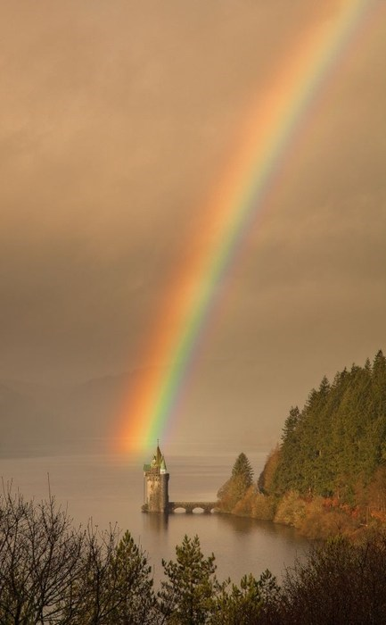 castle,magical,landscape,lake,rainbow,destination WIN!,g rated