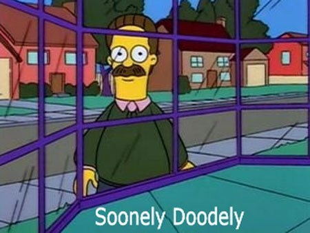 SOON creepy ned flanders the simpsons
