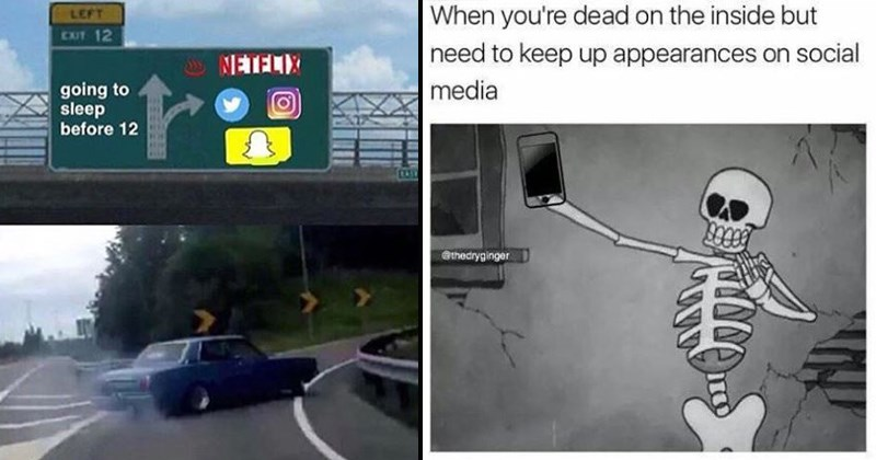 memes about social media