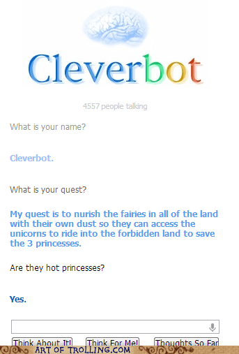 princess quest Cleverbot name - 6904983296
