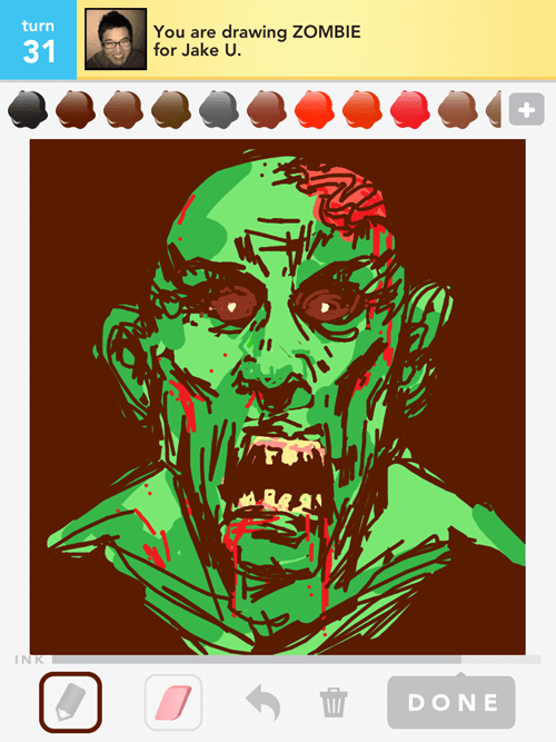 we get it,draw something,zombie