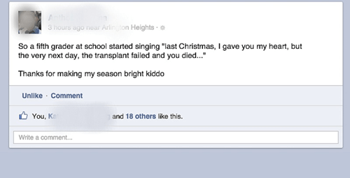 transplant failed,seasons greetings,christmas love song,dating fails