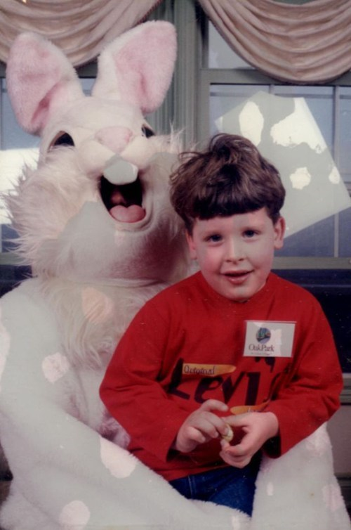 creepy Easter Bunny Photo - 6905797120