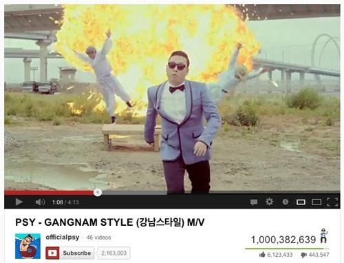 youtube gangnam style psy