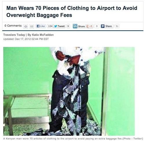 flight plane baggage uncomfortable clothes - 6906044928